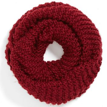 Junior Women's BP. Chunky Knit Infinity Scarf