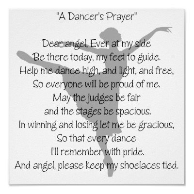 a dancer 39 s prayer dance poster from from zazzle for my walls