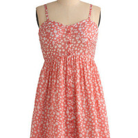 Grapefruit Fizz Dress | Mod Retro Vintage Printed Dresses | ModCloth.com