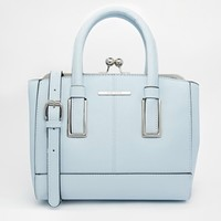 River Island Blue Mini Frame Bag
