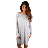 Perfect Little Tunic in Grey