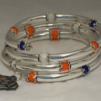Baseball fan bracelet -- New York Mets