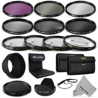 52MM Complete Lens Filter Accessory Kit for NIKON D3300 D3200 D3100 D3000 D5300 D5200 D5100 D5000 D7000 D7100 DSLR Camera - Includes: Vivitar Filter Kit (UV, CPL, FLD) + Vivitar Macro Close Up Set (+1, +2, +4, +10) + Altura Photo ND Neutral Density Filter