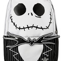 Nightmare Before Christmas Backpack by Loungefly (Black/White)