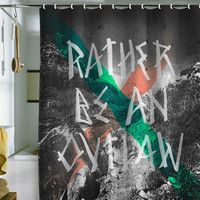DENY Designs Home Accessories | Wesley Bird Rather Be An Outlaw Shower Curtain