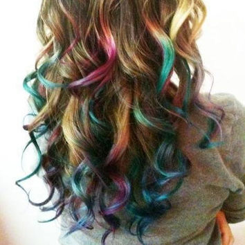 Temporary Hair Color, Chalk, DIY At Home - PICK A COLOR