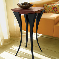 The Violet Table by Michael McCoy: Wood Side Table - Artful Home