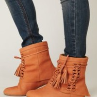 Jeffrey Campbell Tain Tassel Boot