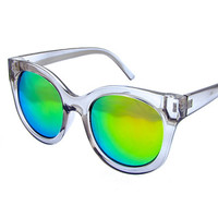 Retro Raven Sunnies- White
