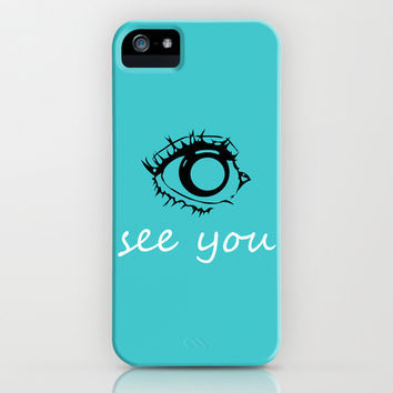 Eye See You iPhone & iPod Case by Anchor Eight