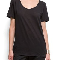 MANGO - CLOTHING - Tops - T-Shirts - Cotton essential t-shirt