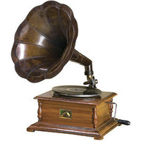 ANTIQUE RCA VICTOR PHONOGRAPH GRAMOPHONE REPLICA &amp;#36;500 - eBay... - Polyvore