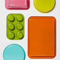 Colorful 5-Piece Bakeware Set- Multi One