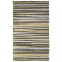 JLA Rugs Newport Easton Stripe Green Contemporary Rug - 2155/16 - Striped Rugs - Area Rugs by Style - Area Rugs