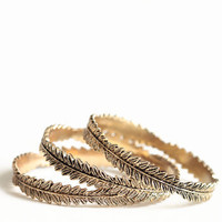 Mother Nature Bangles - $20.00: ThreadSence, Women&#x27;s Indie &amp; Bohemian Clothing, Dresses, &amp; Accessories