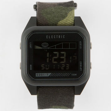 Electric Ed01 Tide Nato Watch CamoBlack One Size For Men