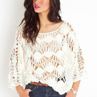 Macrame Crochet Knit - NASTY GAL