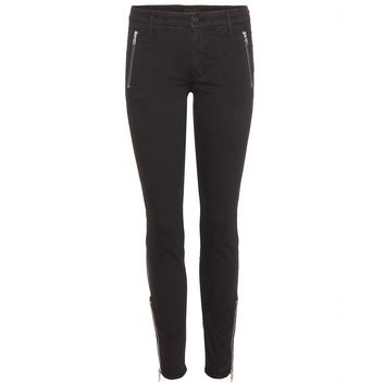 mother  zip muse skinny jeans