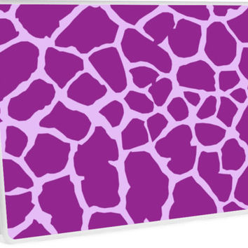 Animal Print (Giraffe Pattern) - Purple