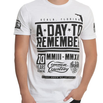 A Day To Remember Fighter T-Shirt