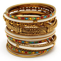 Adreena Bangle Set - Amrita Singh - Polyvore