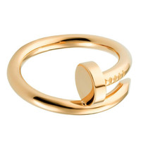 Nail Ring Gold - One Size / Gold