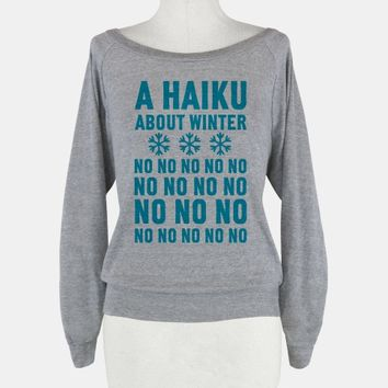 A Haiku About Winter