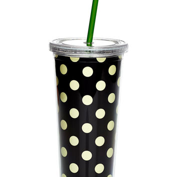 kate spade new york Le Pavillion Opaque Tumbler with Straw