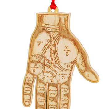 Good Fortune Palmistry Hand Ornament - PLASTICLAND