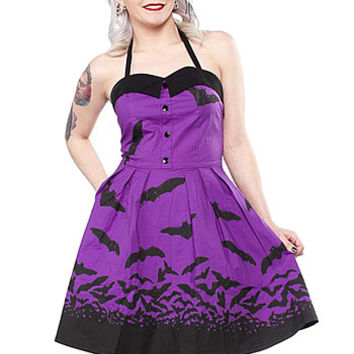 Spooksville Bats Dress - PLASTICLAND