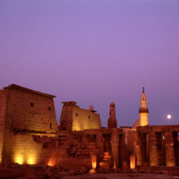Luxor Temple, Luxor Museum, New Kingdom, Egypt Stretched Canvas Print by Kenneth Garrett at Art.com