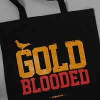 The Gold Blooded Tote