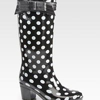 Kate Spade New York - Randi Too Polka Dot Rain Boots