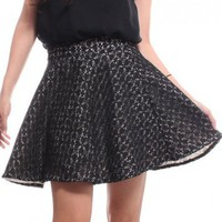 Lace Flare Skirt