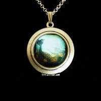 I've heard the mermaids singing Art locket by irenesuchocki