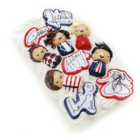 One Direction 3D Phone Case (Decoden)