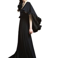 Ruffled Night Star Dress