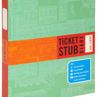 Ticket Stub Diary | Mod Retro Vintage Stationery | ModCloth.com