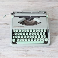 hermes rocket typewriter by AMradio on Etsy
