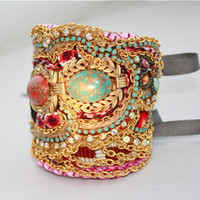 Diamonds Are Girls Best Friendship Cuff Ophelia by DolorisPetunia