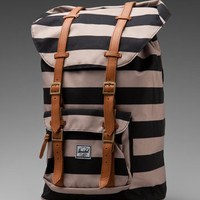 Herschel Supply Co. The Field Collection Little America in Black/Taupe from REVOLVEclothing.com