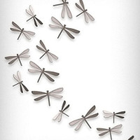 Dragonfly Wallflutters 3-D Art Set
