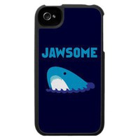 Jawsome Shark iPhone Speck Case from Zazzle