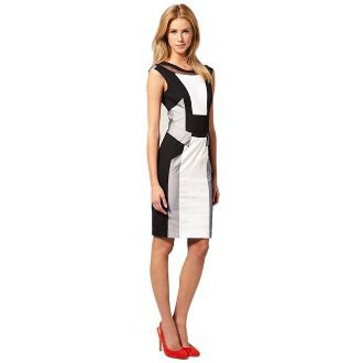 Graphic Panel Dress