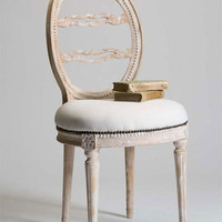 Tara Shaw Maison - Swedish Side Chair - &amp;#36;1420 - The Bella Cottage