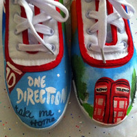 One Direction: Take Me Home inspired shoes.