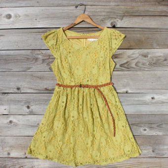 September Haze Dress, Sweet Women's Bohemian Clothing