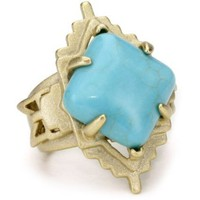 Kendra Scott Reva Turquoise Ring - designer shoes, handbags, jewelry, watches, and fashion accessories | endless.com