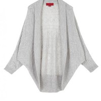 Gray Half Sleeve Sweater$53.00