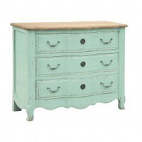 Duck Egg Blue 3 Drawer Chest